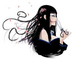 ama Jeff the killer fan ; Kuchisake Onna, Japanese Mythology, Japanese Folklore, Pretty Art, Cute Art, Japanese Urban Legends, Scary Creepypasta, Pop Art Girl, Horror Art