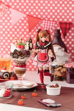 ~スイーツ ア・ラ・モード~ チョコレートパフェ/アリサ_L_005
