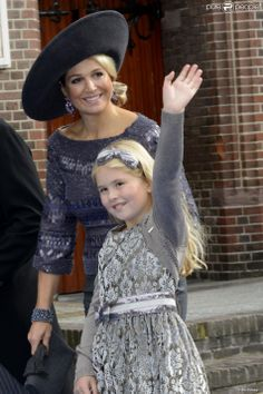 queen maxima and her daughter princess Amalia