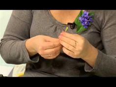 Рукотворные цветы. Лизуантус Выпуск 23 - YouTube