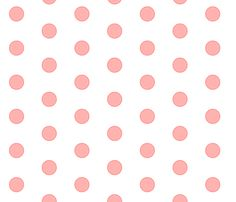 pink polkadots fabric by reen_walker on Spoonflower - custom fabric