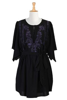 bat-sleeve, bohemian, business-casual, classic, crepe, day, designer, embellished, embroidered, fall, fashion, feminine, festive, floral, folk, for-women, fun, holiday, keyhole, loose-fit, mid-thigh-length, modest, peasant-blouses , plus-size, polyester, pretty, retro, romance, scoop-neck, tops, travel, tunics , whimsy, work,blouses