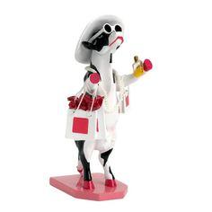 """Vache """"Alphadite Goddess of Shopping"""" Cow Parade"""