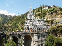 Las Lajas Cathedral- Colombia .... Fernando's Home