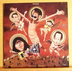 THE DICKIES Second coming Vinyl LP Dummy up Cross Eyed Tammy Going homo Caligula