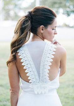 Vestido de novia Olivia Gris