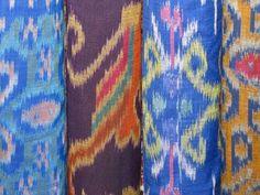 Ikat fabrics from Garoo Trading Company