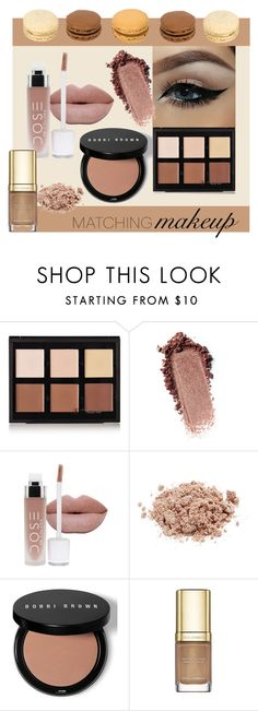 """""""Earth tones"""" by edige ❤ liked on Polyvore featuring beauty, Anastasia Beverly Hills, Modern Minerals, Bobbi Brown Cosmetics and Dolce&Gabbana"""
