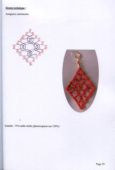 Crochet Edging Patterns, Bobbin Lace Patterns, Lace Making, Gold Rings, Coin Purse, Rose Gold, Earrings, Jewelry, Mandala