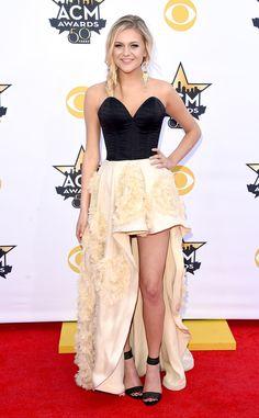 Kelsea Ballerini from 2015 ACM Awards Red Carpet Arrivals | E! Online