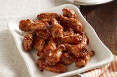Accompagnées de notre trempette, nos ailes de poulet cuites au four sont…