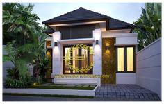 Jasa Desain Rumah 1 Lantai 3 Kamar Lebar 8 m, Luas Tanah 100