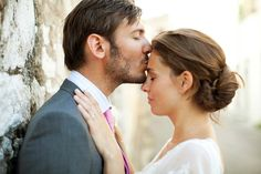 There is nothing sweeter than a kiss on the forehead :)