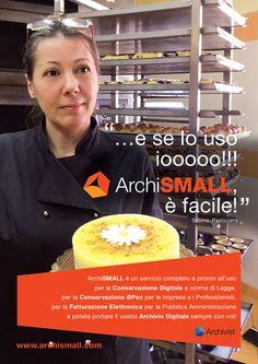 """""""e se lo uso io... ArchiSMALL, è facile!"""" #archivist #archismall #archiviazione #archiviazionedigitale #conservazione #conservazionesostitutiva #fatturazionePA #fatturazioneB2B #fatturazioneprivati"""