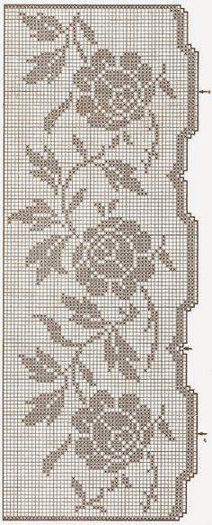 Victoria - Handmade Creations : Σχέδια για κουρτίνες με τριαντάφυλλα
