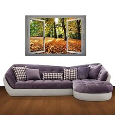 3D Wall Stickers Wall Decals, Maple Decor Vinyl Wall Stickers – CAD $ 45.86