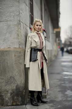Best Street Style Looks of MFW Fall 2018