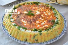 Tart Kalıbında Patates Salatası (Yoğurtlu) Tarifi