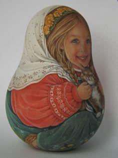 Author's 1 kind russian roly poly nesting like reborn baby dolls Artist Usachova   Куклы и мягкие игрушки, Куклы, По типу   eBay!