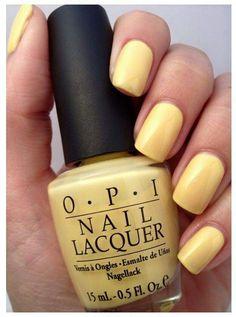 I Love This Color Next For My ToesPolish Crazed Banana Bandana By OPI