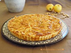 Quiche dulce de manzana   Cocina Quiches, Apple Recipes, Sweet Recipes, Pie Cake, Macaroni And Cheese, Food To Make, Bakery, Deserts, Food And Drink
