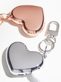 Heart Charger Keychain New Baby Gifts, Gifts For Her, Great Gifts, 16 Birthday Presents, You Bag, Heart Shapes, Anniversary Gifts, Charger, New Baby Products