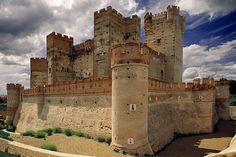 Castillo de la Mota, Medina del Campo,  Valladolid, ES