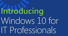 Microsoft Press ebook o pdf gratuito su windows 10 preview ufficiale