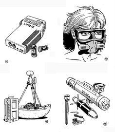 Traveller - Gear No. 2 by SteamPoweredMikeJ.deviantart.com on @DeviantArt
