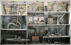 Marc Giai-Miniet's Demented Dollhouses. (Marc Giai-Miniet,2015)