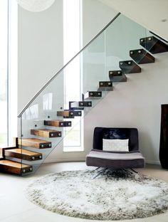 escaleras barandales proyectos escalera de madera escaleras del desvn escalera moderna ideas escalera barandilla de la escalera escaleras de