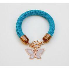 Blue Butterfly Toolittle Rope Bracelet #rope bracelet