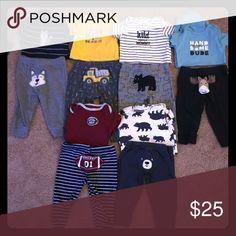 a3d2d794d Bundle of 5 3-6 month old baby boy clothes