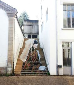 Street Artists Turns Stairs into Works of Art