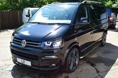 2015 15 VW Transporter 2.0 T5 T30 140ps SWB Kombi Sportline Pack Black Leather | eBay