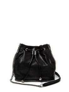 075e1bba28fe Stella McCartney Falabella Microsuede Small Bucket Bag from Gilt - Styhunt