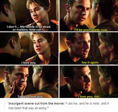 Insurgent I think is he most perfect scene in the movie