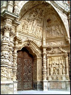 Cathedral of Astorga, northern Spain.
