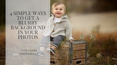 easy ways to get a blurry background in your photos. here's how to do it!