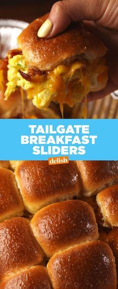 Tailgate Breakfast Sliders