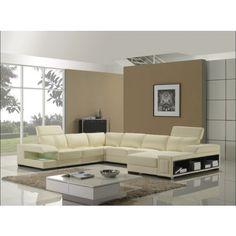 Tosh Furniture Ultra Modern Sectional Sofa Furniture | Modern Furniture Warehouse