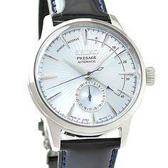 Jdm, Chronograph, Seiko Presage, Glass Boxes, Japan, Young Fashion, Seiko Watches, Watch Brands, Calves