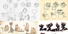 Enjoy a new collection of references for Character Design: Cats. The collection contains illustrations, sketches, model sheets and tutorials…