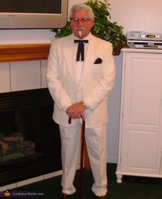 KFC - Colonel Sanders Costume - 2012 Halloween Costume Contest