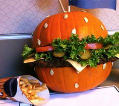 Over 50 inspirational Jack-O-Lantern ideas in your life around Halloween. You can design a pumpkin, a breakfast, or a dessert to look like a jack-o-lantern.