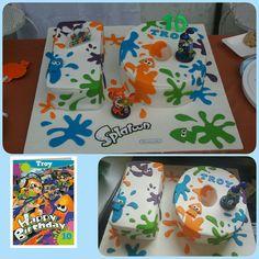 #splatoon birthday cake