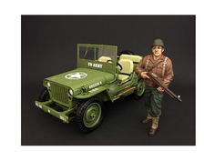US Army WWII Figure II For 1:18 Scale Models by American Diorama - Packed in a blister pack. Only one figure will be received. Each standing figure is approximately 4 inches tall.-Weight: 1. Height: 5. Width: 9. Box Weight: 1. Box Width: 9. Box Height: 5. Box Depth: 5