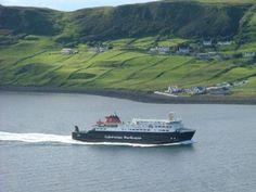 Ferry from Uig Skye Sat Morning