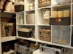 Cheap and clever closet organization ideas.