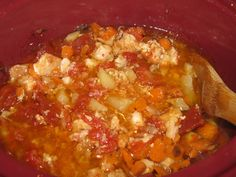 "Cooking with Mama Laura: South Carolina Catfish ""Stew"" (crock pot)"